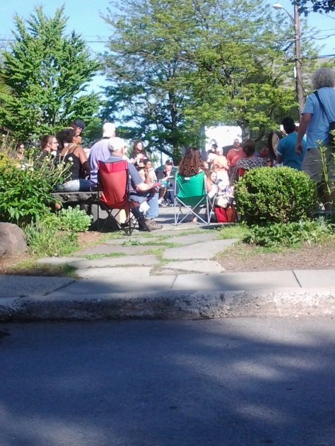 Drum Circle In Woodstock