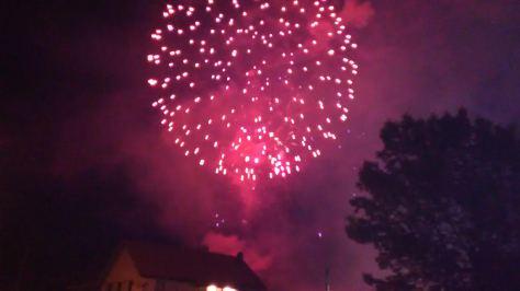 Nice fireworks in Margaretteville