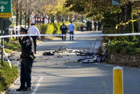Manhattan Shooting, New York, USA - 31 Oct 2017